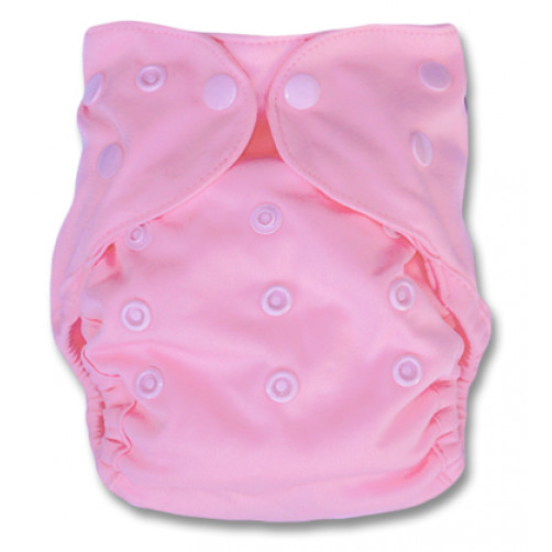 NbDG03 Light Pink Newborn Cover Double Gusset