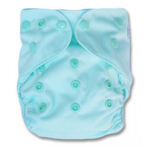 NbDG02 Aqua Newborn Cover Double Gusset