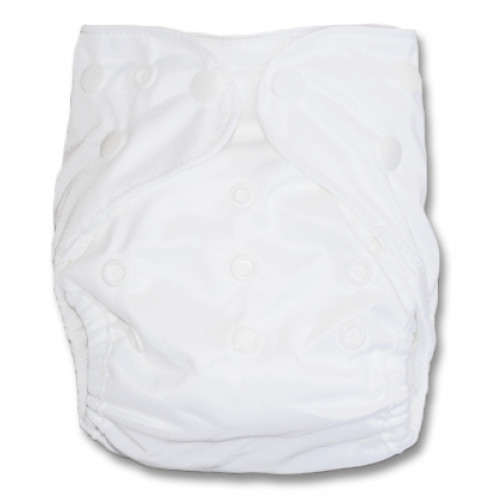NbDG00 White Newborn Cover Double Gusset