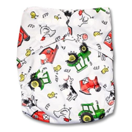J011 Tractors Newborn Cover