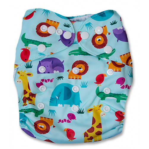 J059 Blue Safari Newborn Cover