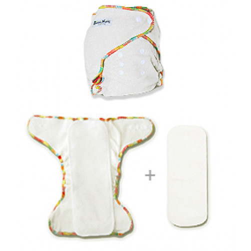 Newborn Hemp Fitted Nappy