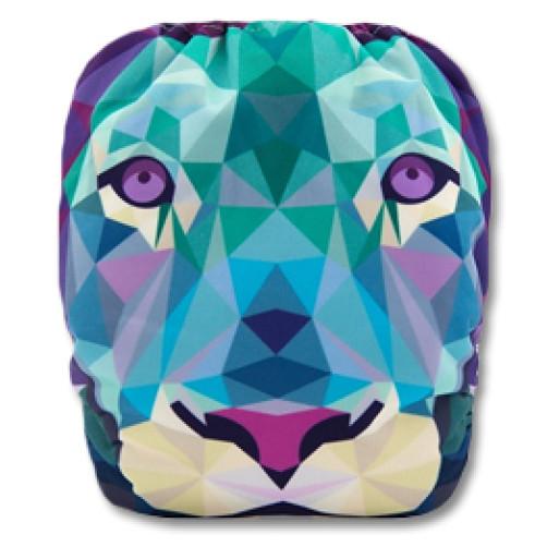C054 Lion Face Position Print