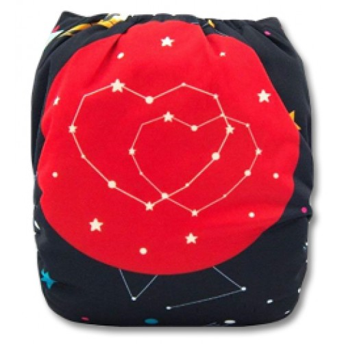 C073 Heart Constellation Position Print