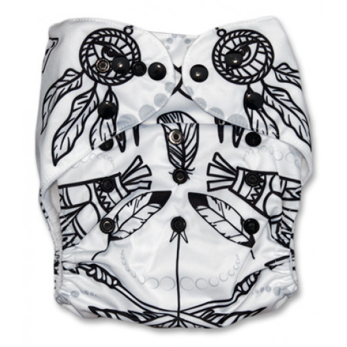 PC500 Black & White Dream Catchers PUL Cover