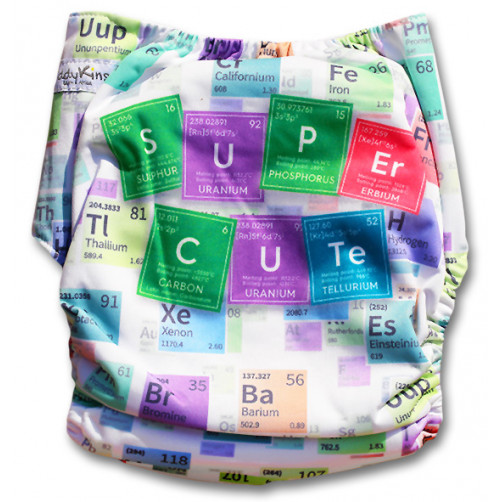 C092 Cute Periodic Table Position  Print