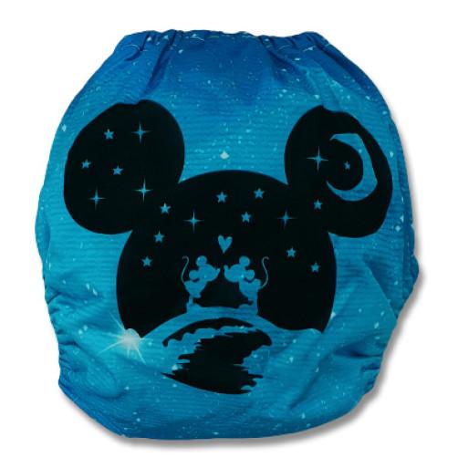 C903 Ltd Ed. Blue Stars Kissing Mice Position Print