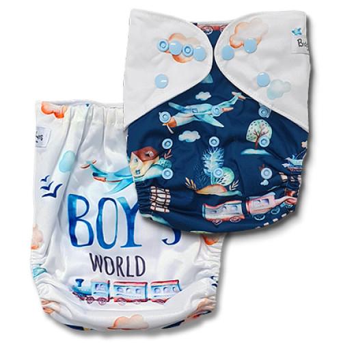 C115 Boys World Position Print