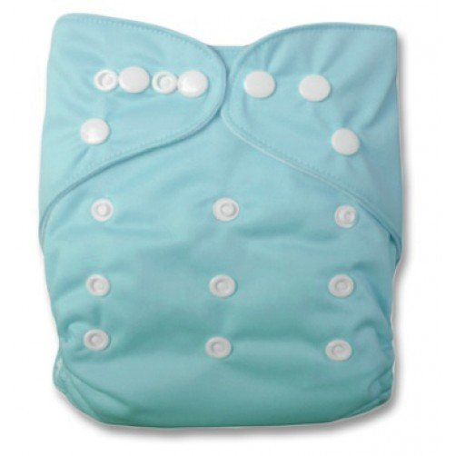 Double Gusset OSFM PUL Cover - Light Blue