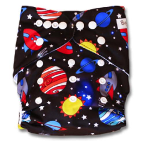 B005 Large Multicolour Planets