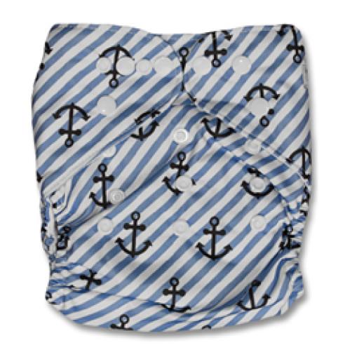 B007 Blue Stripe Anchors