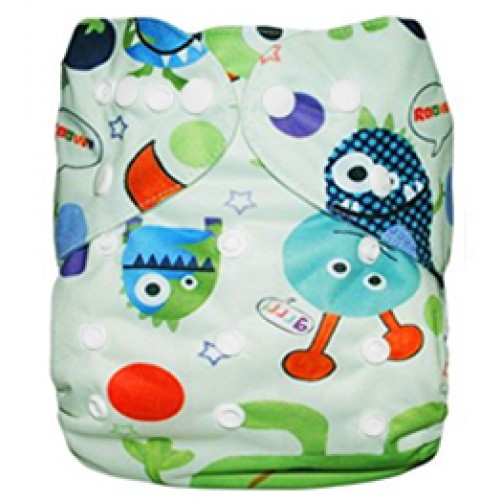 B020 Light Green Monsters