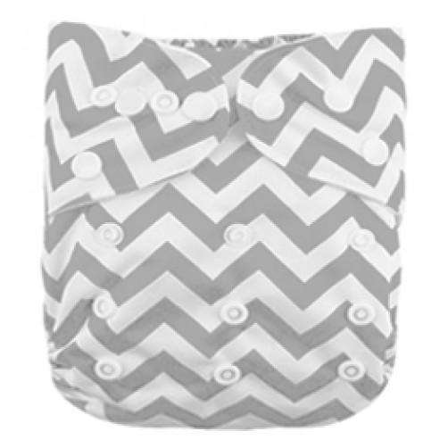 B057 Grey Chevron