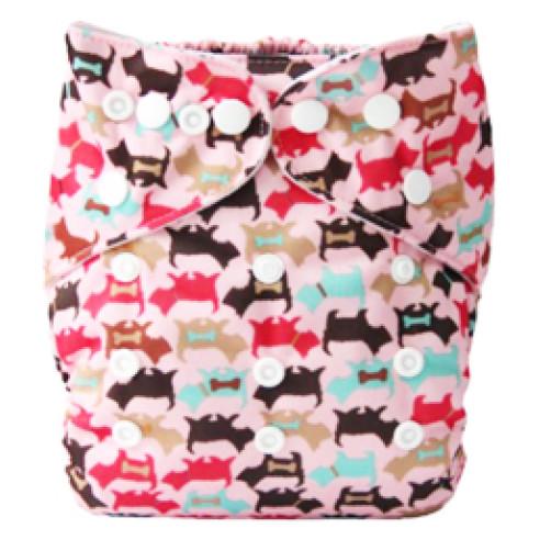 B059 Pink Scotty Dogs