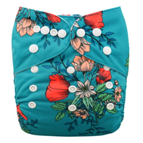 B072 Turquoise Floral