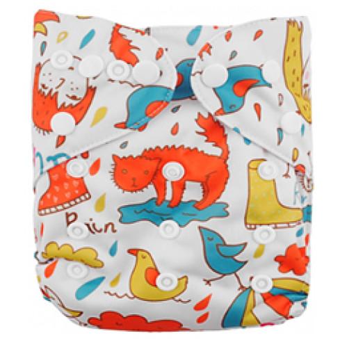B076 Raining Cats & Dogs
