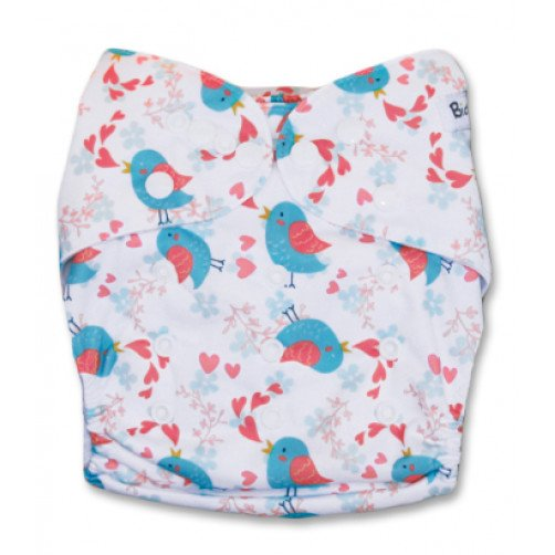 PC057 Twitter Birds & Hearts PUL Cover