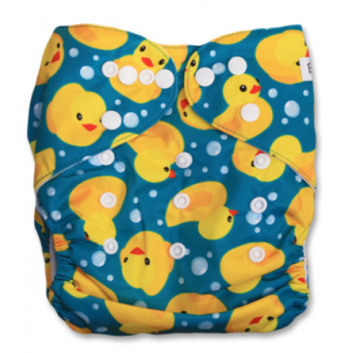 PC040 Blue & Yellow Ducks PUL Cover