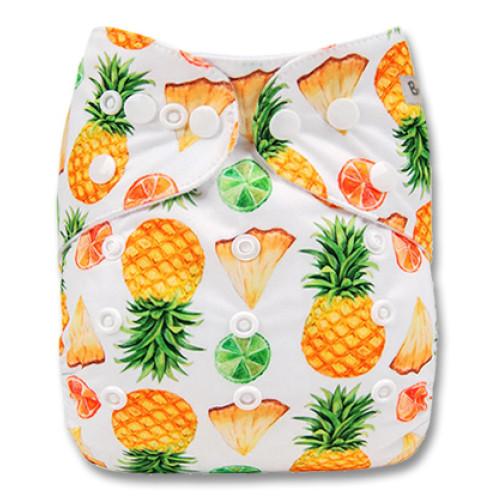 B177 White Yellow Pineapples