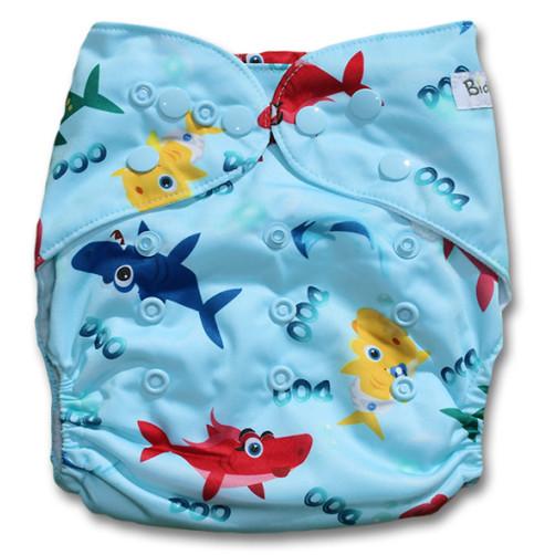 B192 Shark Family Doo Doo Print