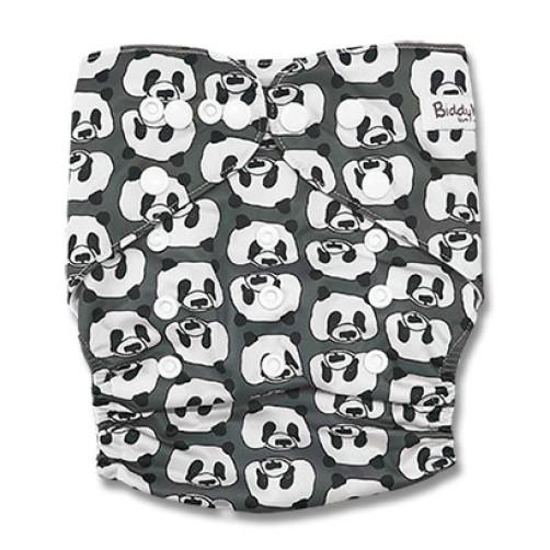 B310 Grey with Pandas Pocket
