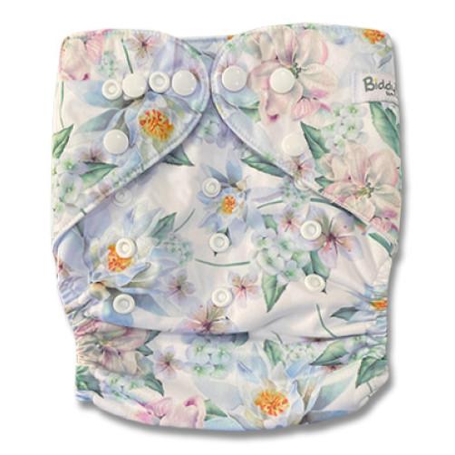 B319 Soft Pastel Floral Pocket