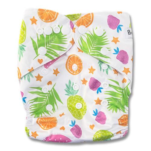 B306 White Bright Fruit Pocket