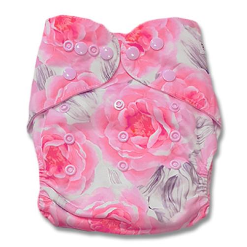 B206 Large Pink Flowers Pocket