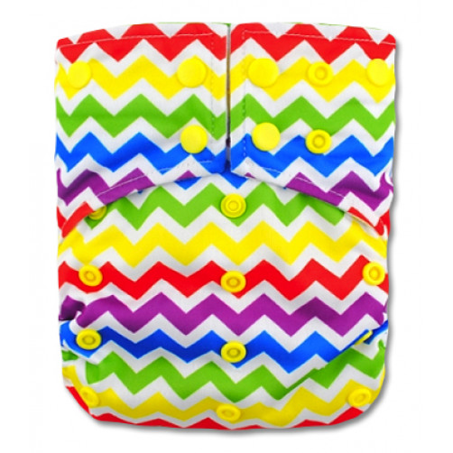 G017 Mulicolour Chevron Sleeve