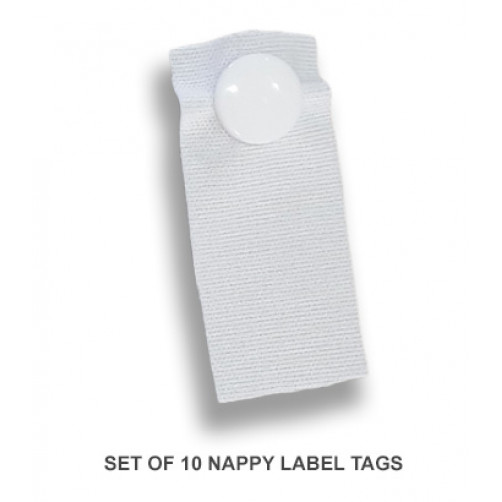 Nappy Label Tags (Set of 10)