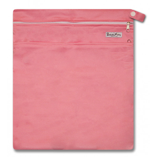 W001 Pink Smooth Wet Bag