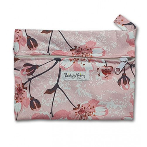 WS021 Pink Cherry Blossoms Small Wet Bag