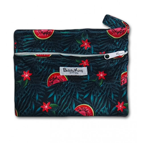 WS022 Dark Watermelons Small Wet Bag