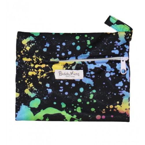 WS011 Paint Splashes Small Wet Bag