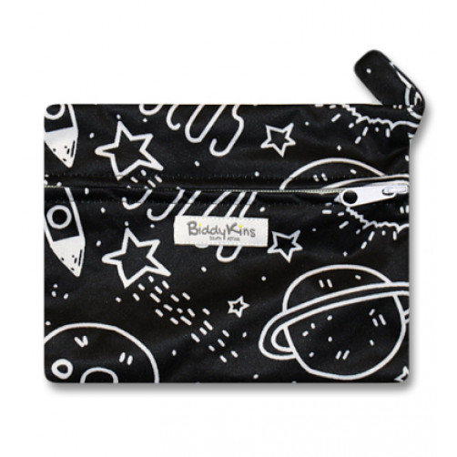 WS012 Black Space Small Wet Bag