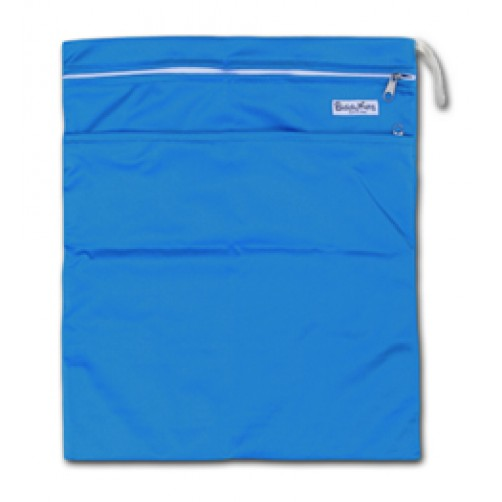 W002 Royal Blue Smooth Wet Bag