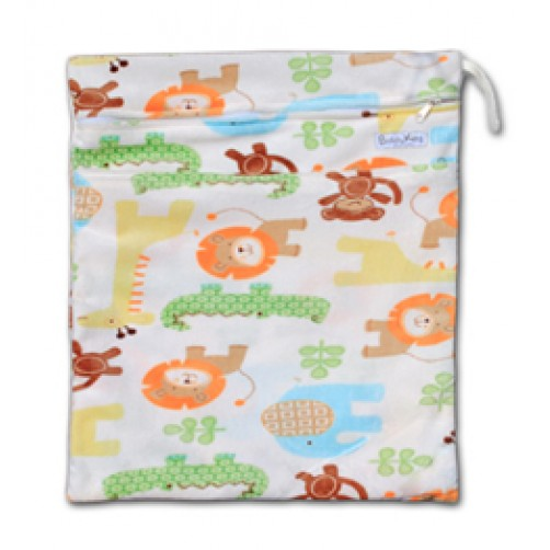 W527 Safari Minky Wet Bag