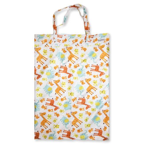 XLW002 - XL Wet Bag - Giraffe Frogs