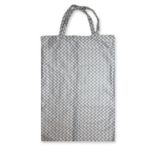 XLW003 - XL Wet Bag - Grey Chevron