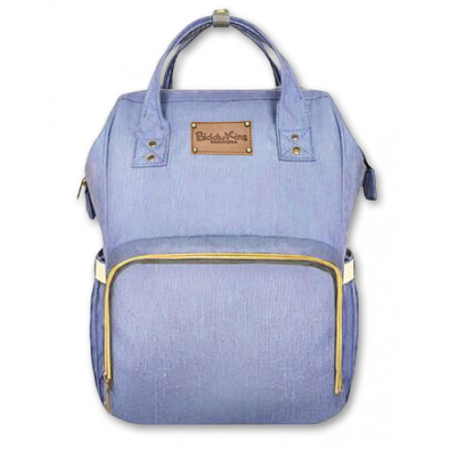 Light Blue BiddyKins Nappy Backpack