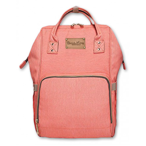 Peach BiddyKins Nappy Backpack