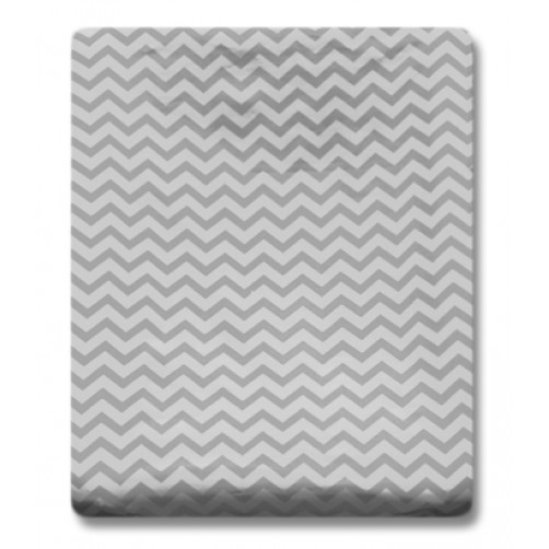 CMC001 Grey Chevron Changing Mat Cover