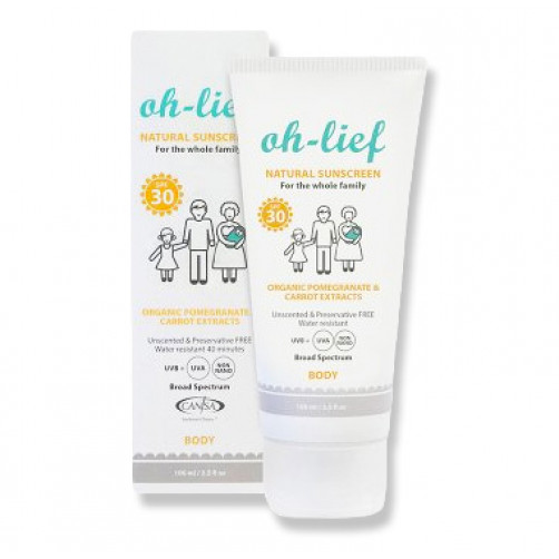 Oh-Lief Sunscreen SPF30 100ml