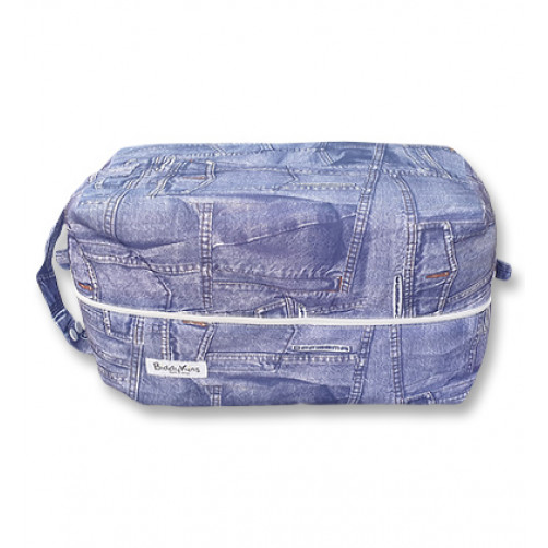PB056 Denim Jeans Pod Bag