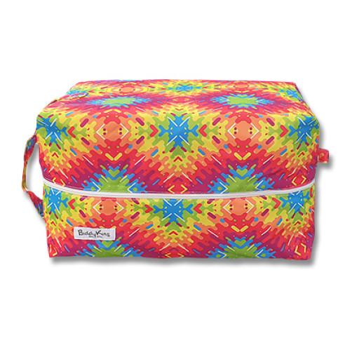 PB057 Geometric Tie-dye Pod Bag