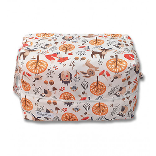 PB059 Hedgehogs Bunnies Foxes Owls Pod Bag