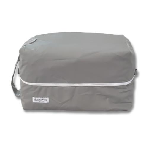 PB002 Plain Grey Pod Bag