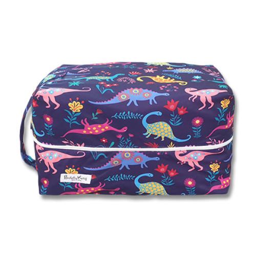 PB065 Purple Neon Dinos Pod Bag