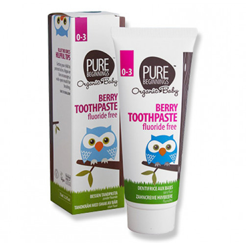 Pure Beginnings Baby Toothpaste Berry 75ml