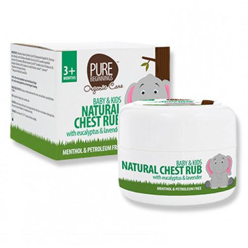 Pure Beginnings Natural Chest Rub 50ml